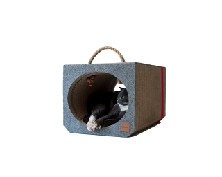 Cat Scratching Tunnels